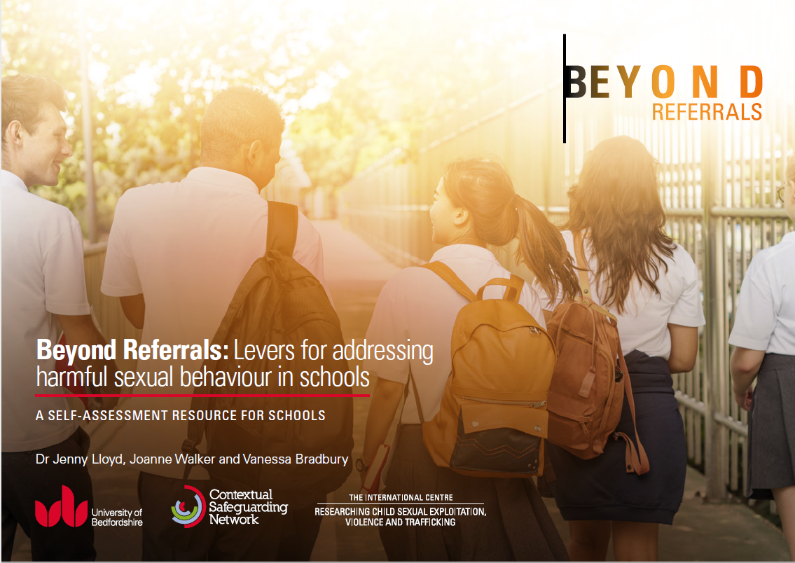 Beyond Referrals Two: Launch of a range of resources, including a briefing paper and self-assessment toolkit, to support schools to address HSB.